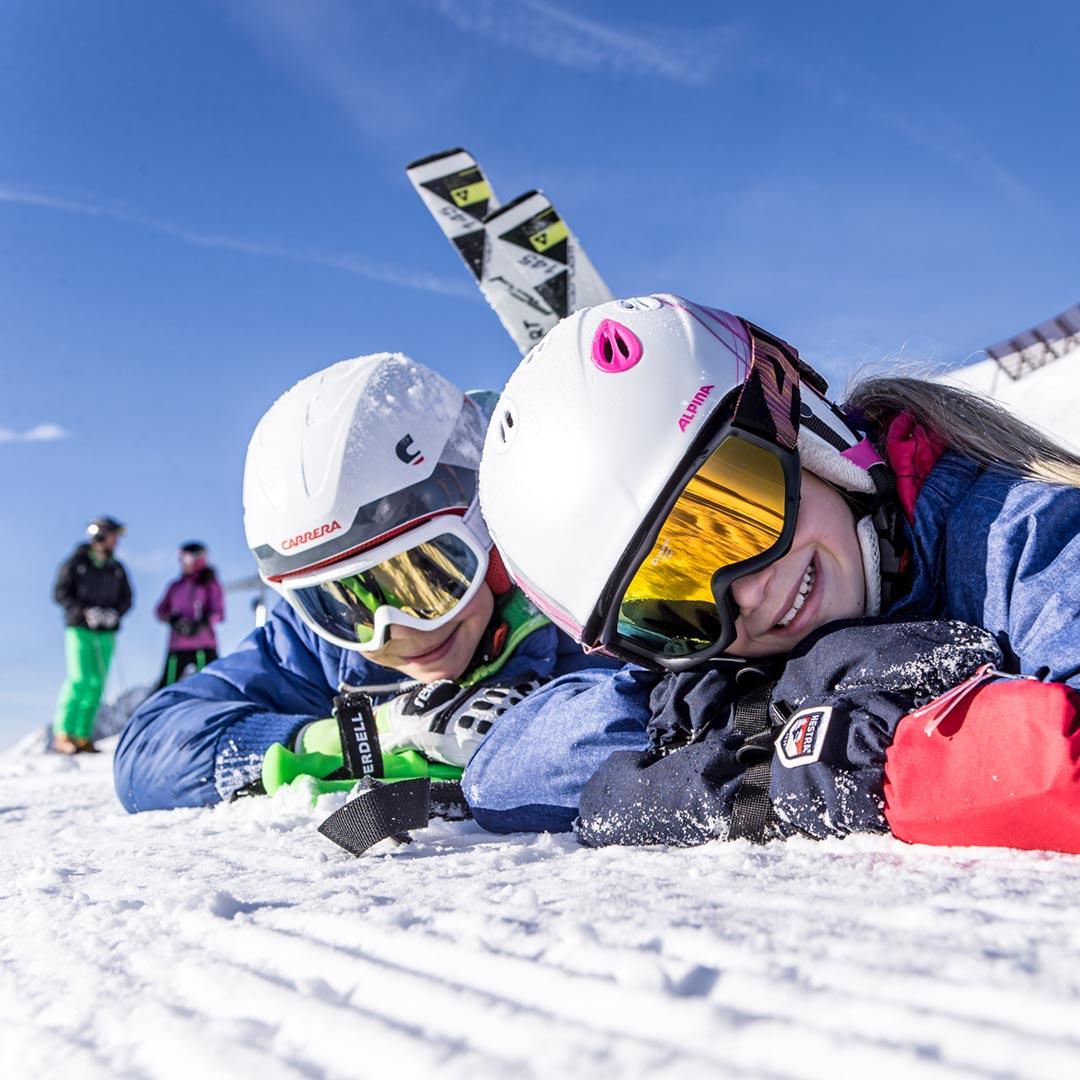 Kinder Schifahren